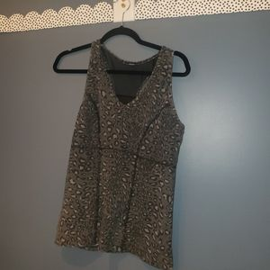 Tops - Cheetah Thick Workout Top